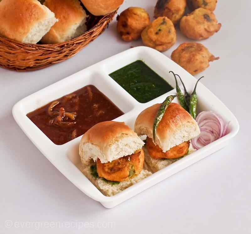 Street Food Style Pav Vada