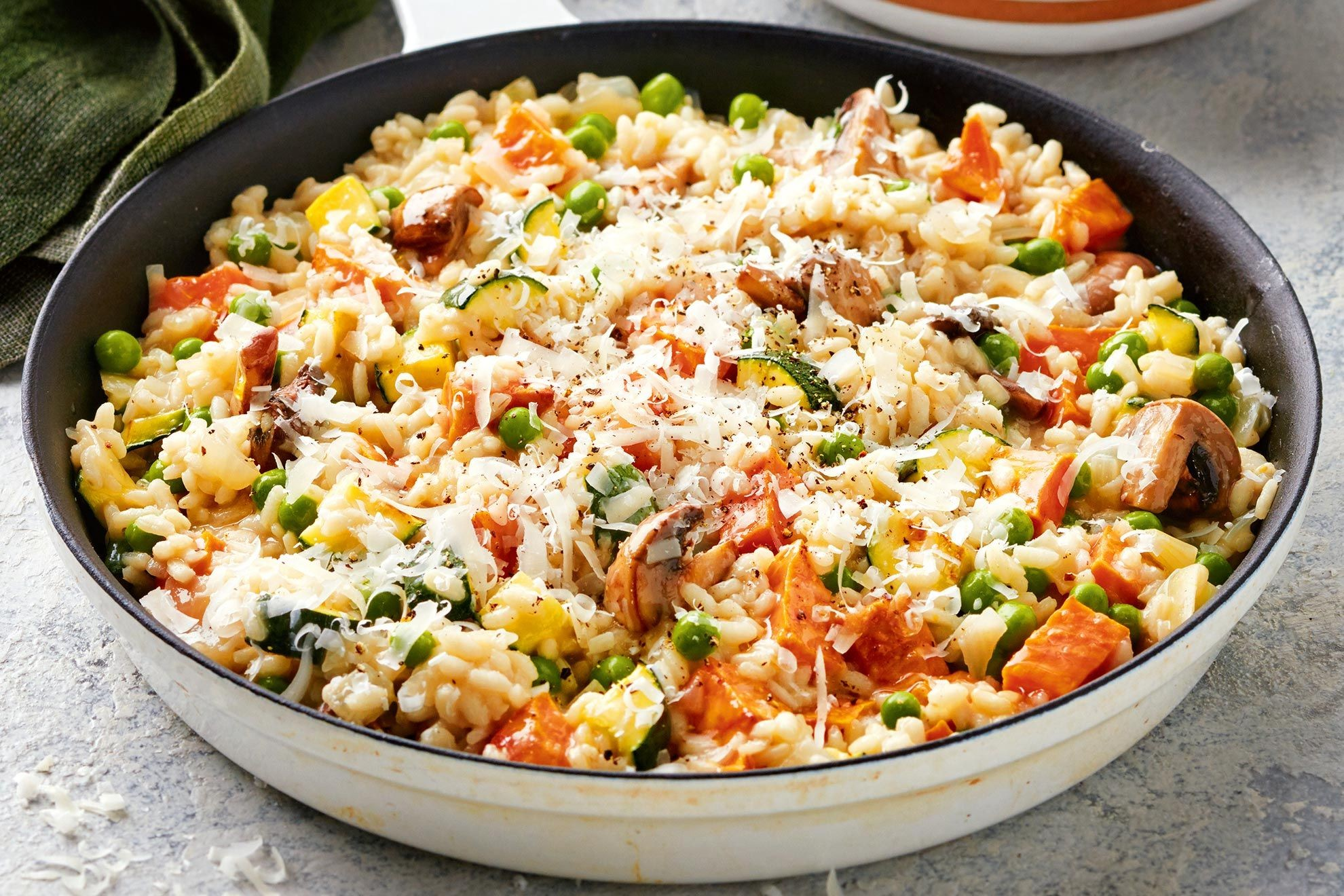 Creamy Mixed Vegetable Risotto